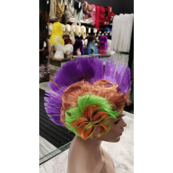 Cherry red color shampoo semi permanent dye - watercolor hair 100ml
