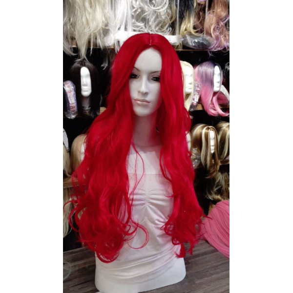 Cosplay Colour Synthetic wig, medium length, wavy