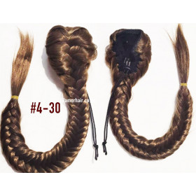 """45cm natual wavy (18"""") 10pc clip in - Virgin Indian Remy"""