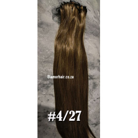 "Edit: 16"" straight Virgin Brazilian remy weave, 100g pack"