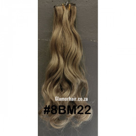 Ombre claw clip pony ( 1b-24) 60cm body wave - proextend synthetic hair