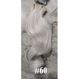 Edit: Ombre claw clip pony ( 27-613) 60cm body wave - proextend synthetic hair