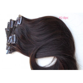 100% Brazilian remy human hair  Clip in crown piece
